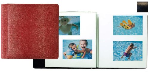 Raika RO 133 BLK Magnetic Photo Album - Black by Raika®