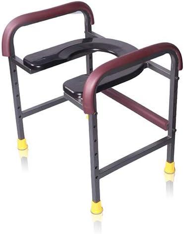 高齢者用ベッドサイドトイレ便器-アームレスト付きU字型シート、家庭用モバイルトイレ、シャワーチェア、妊婦、障害者、不便な人
