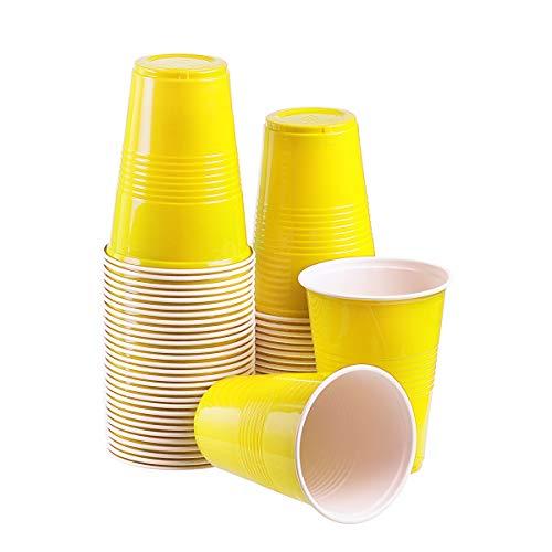 (TashiBox 16 oz disposable plastic party cups, 150 count)