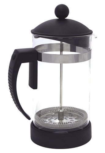 ZUCCOR Milano Heat Resistant (Borosilicate) Gourmet Coffee Press, 32 oz, Black