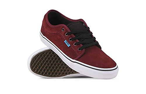 Vans Chukka Low Chima Ferguson Burgundy Red Skateboarding Sneakers Size 11 Kids