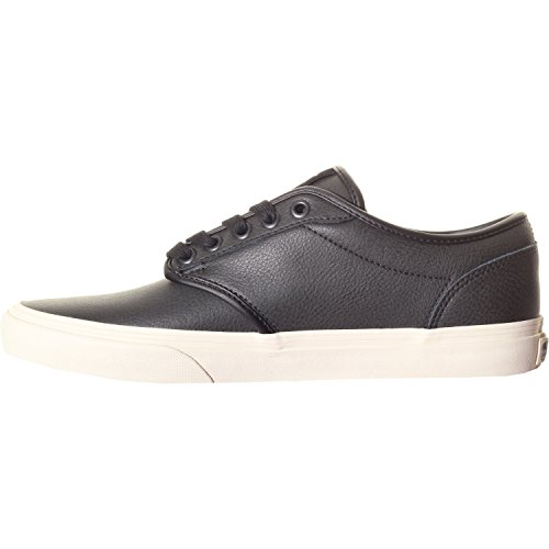 Atwood Hombre Black Leather Zapatillas Vans Turtledove Zq7AHqw