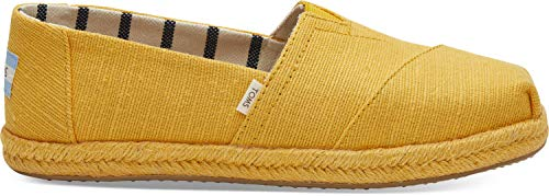 TOMS Women's Alpargata on Rope Gold Fusion Canvas On Mono Rope 9.5 B US