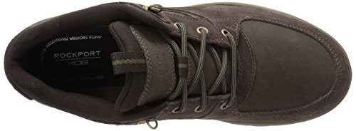 Rockport Mens Kingstin Impermeabile Mid Boot Invernale Marrone Scuro