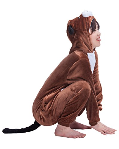 Unisex-Adult Anime Cosplay Outfit Dog Halloween Costumes Pajamas XL