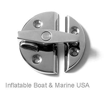 Captivating Boat Latch / Catch Turn Twist Button   Door Cabinet   Large 2 1/