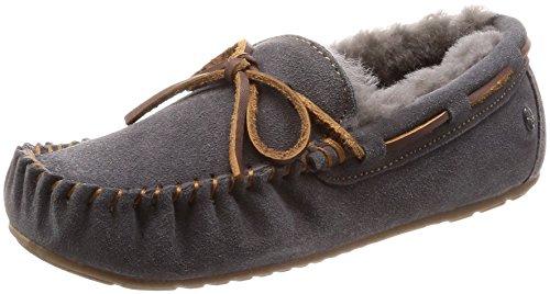 Charcoal Slippers Sheepskin Amity EMU Moccasins Womens Australia BqOwY106