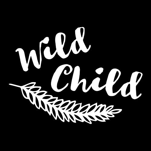 Creative Concepts Ideas Wild Child Fern Plant Leaf Flower CCI Decal Vinyl Sticker|Cars Trucks Vans Walls Laptop|White|5.5 x 4.5 in|CCI2319]()
