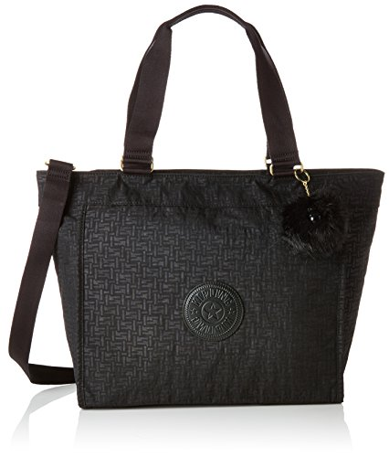 Tote Pylon Nero Donna Borse L New Black Emb Kipling Shopper qfOcI