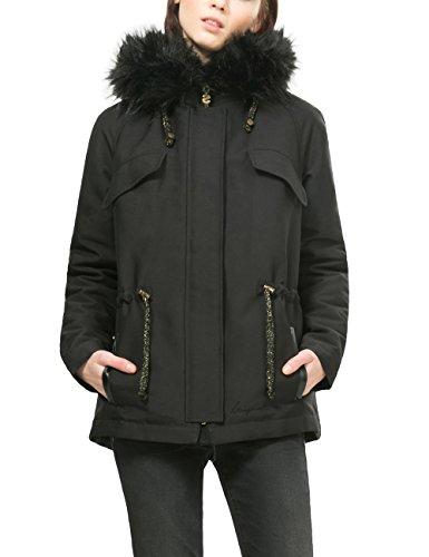Manteau 2000 Negro Femme Desigual Noir PSpvqwf