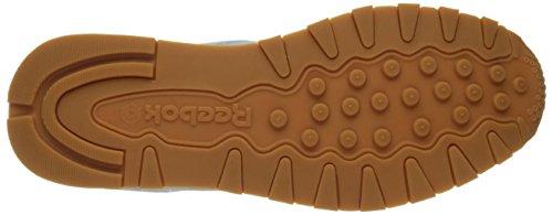 Zapatillas De Deporte Reebok Hombres Classic Lthr Pastels Fresh Blue / Classic White / Coal-gum