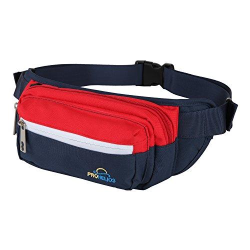 Fanny Pack for Men Women Waterproof Waist Bag for Outdoor Ac