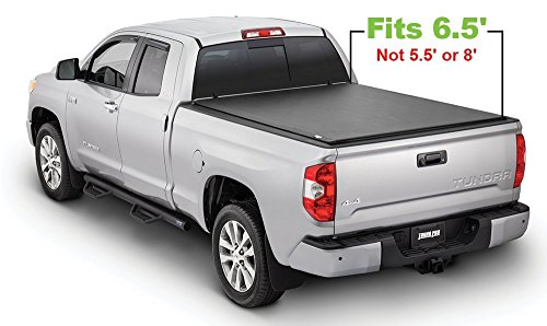 - Tonno Pro LR-5035 Lo-Roll Black Roll-Up Truck Bed Tonneau Cover 2006 Toyota Tundra | Fits 6.5' Bed