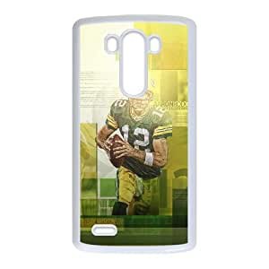 Aaron Rodgers LG G3 Cell Phone Case White