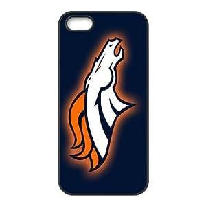Custom Denver Broncos NFL Back Cover Case for iphone 5,5S JN5S-1819