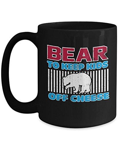 Shirt White Chicago Football Keep Kids Off Cheese Dare Funny Coffee Mug 15oz Black]()