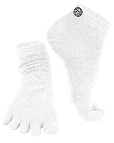Mato & Hash 5 Toe Active Athletic Performance Sport Toe Socks
