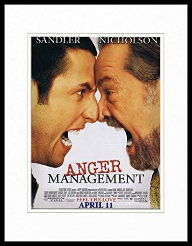 Anger Management 2003 Nicholson Sandler Framed 11x14 Original Advertisement At Amazon S Sports Collectibles Store