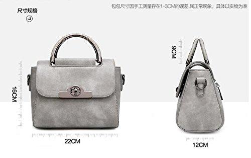 carrés Messenger Bag sac rétro à main sac Burenqi sacs Gray bandoulière à sacs style vHwx6Pq