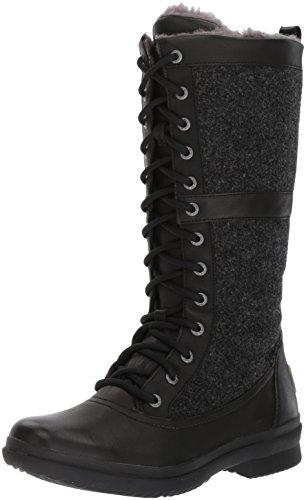 UGG Women's Elvia Boot, Black, 10 M US by UGG