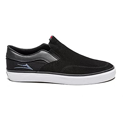 f588a4e6801 Lakai Owen Slip-On Skate Shoe Black White Suede UK9.5 US10.5 ...