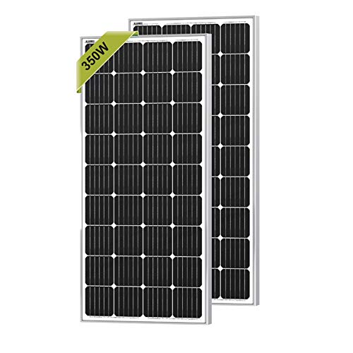 Newpowa 2pcs 175W 350W Monocrystalline Solar Panels for RV,Home,Boat Off Grid System