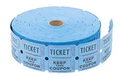 (Raffle Ticket: Blue Double Roll of 2000 Tickets (Blue))