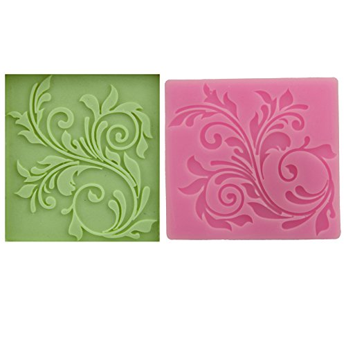 Let'S Diy Lace Silicone Impressing Mold Mat Fondant Cake Sugar Mould Cooking Tools Flower Decorating Tools -