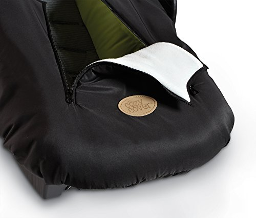 cozy cover infant car seat cover black 11street malaysia carriers. Black Bedroom Furniture Sets. Home Design Ideas
