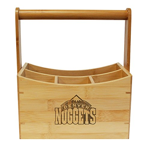 Coopersburg NBA Denver Nuggets Bamboo Utensil Caddy by Coopersburg