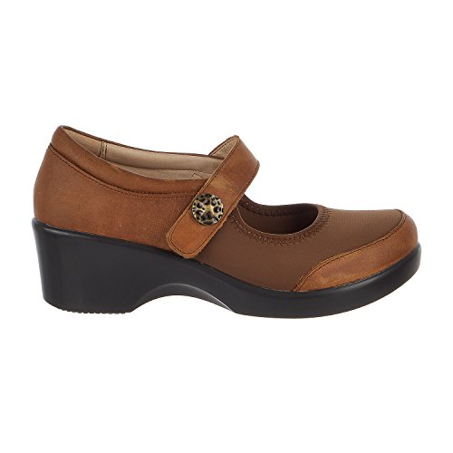 Alegria Womens Maya Mary-Jane Walnut Size 36 EU (6-6.5 M US Women)