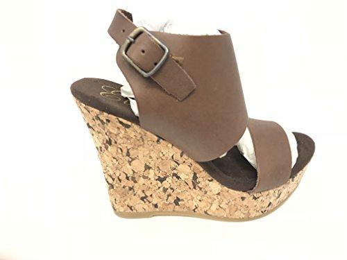 Corkys Femmes Sandale Compensée Aurora