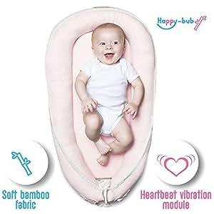 Amazon.com: Happy-bub - Tumbona de bambú para bebé: Baby