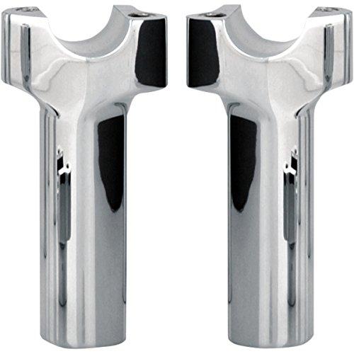 ワイルドワン WILD 1 1インチ ハンドルバー ライザー 4.5インチ ストレート クローム 210279 WO526 B01N3LXUIY