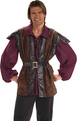 Medieval Outfit (Medieval Mercenary Costume - Standard - Chest Size up to 42)