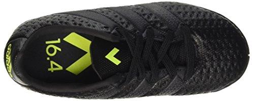 adidas Ace 16.4 In, Botas de Fútbol para Niños Negro (Core Black /     Core Black /     Solar Yellow)