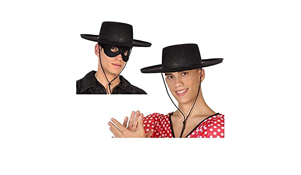 Atosa-59023 Sombrero Cordobés, Color negro, única (59023: Amazon ...