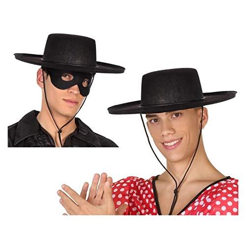 Atosa-59023 Sombrero Cordobés, Color negro, única (59023 ...