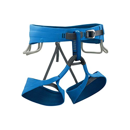 Black Diamond Solution Climbing Harness - Men's Black/Ultra Blue Large