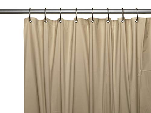 Hotel Collection Heavy Duty Mold & Mildew Resistant Premium PEVA Shower Curtain Liner with Rust Proof Metal Grommets - Assorted Colors -