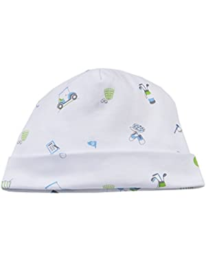 Baby-Boys Infant Daddy's Caddy Print Hat