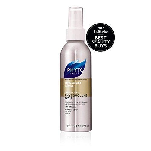 (PHYTOVOLUME ACTIF Botanical Volumizing Spray | Paraben Free & Sulfate Free | Heat - Activated, Blow Drying, Weightless | For Fine Hair | Voluminous Hair, Plumps Hair | Keratin)
