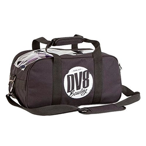 DV8 Tactic Double Tote No Shoe Pouch Bowling Bag, Black