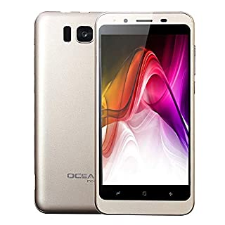 2019 New -Unlocked Cell Phone, 4.7inch Dual HD Camera Android 4.0 WiFi GPS 512MB+4GB Dual SIM 3G Smartphone Mobile Phone (Gold)