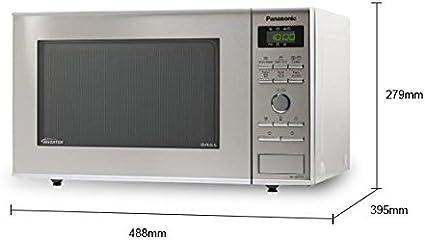 Panasonic NN-GD37 Encimera - Microondas (Encimera, Microondas ...