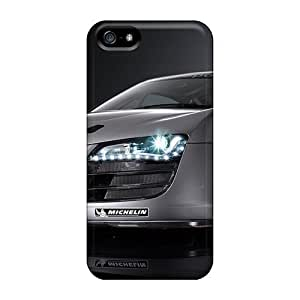Iphone 5/5s Hard Back With Bumper Cases Covers Audi R8 Lms