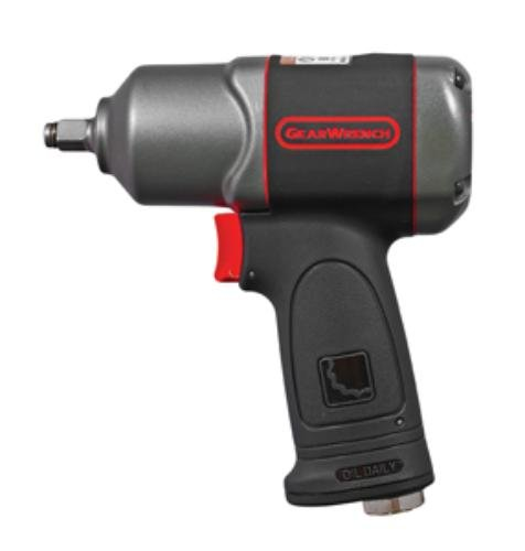 GearWrench 88030 3/8'' Drive Air Impact Wrench, Black
