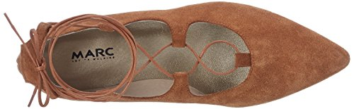 Shoes Ballerine chiuse 00246 marrone Marc Pisa donna braun vxwSTaa