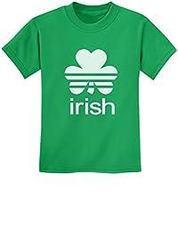 Tstars - St. Patrick's Day Lucky Charm Irish Clover Shamrock Youth Kids T-Shirt