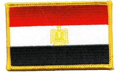 Egypt iron-on embroidered patch